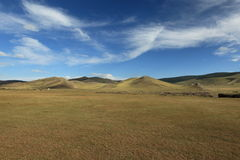 Landscape of Orkhon Valley Mongolia Royalty Free Stock Photo