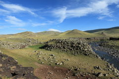 Landscape of Orkhon Valley Mongolia Stock Images