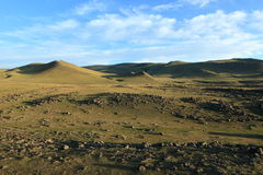 Landscape of Orkhon Valley Mongolia Stock Photo