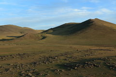 Landscape of Orkhon Valley Mongolia Royalty Free Stock Photos