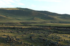 Landscape of Orkhon Valley Mongolia Royalty Free Stock Photography