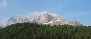 Landscape at Orobie Alps. Valcanale area. Italian Alps. Spring time royalty free stock images