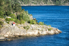 Landscape in the Oslofjord Royalty Free Stock Images