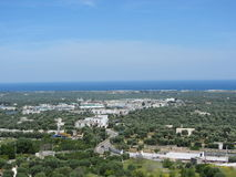 Landscape of Ostuni Royalty Free Stock Image