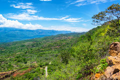 Landscape Outside Barichara Royalty Free Stock Images