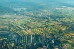 Landscape of the Outskirts of Bangkok Royalty Free Stock Image