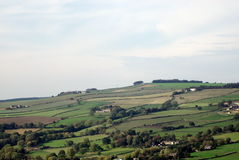 Landscape over Bradfield, SHeffield. Stock Images