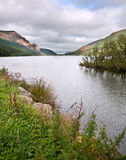 Landscape over Llyn Cwellyn in Snowdonia Royalty Free Stock Photography