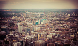 Landscape over London Royalty Free Stock Image