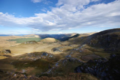 Landscape over the moutains Stock Images