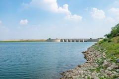 Landscape of Pa Sak Jolasid dam Royalty Free Stock Photos