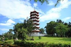 Landscape of pagoda Stock Photo