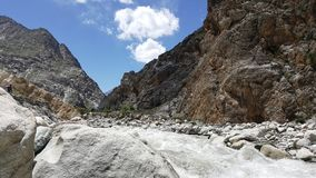 Landscape Pakistan stock image