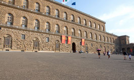 Landscape of Palazzo Pitti, Florence, Italy Stock Images