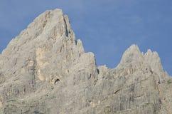 Landscape of Pale di San Martino, Trentino - Dolomites, Italy. Royalty Free Stock Photo