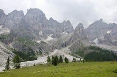 Landscape of Pale di San Martino, Trentino - Dolomites, Italy. Stock Photo