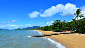 Landscape of Palm Cove Queensland  Australia Stock Photography