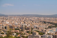 Landscape from Palma. Landscape view of Palma, Spain Royalty Free Stock Image