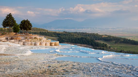 Landscape of Pamukkale Royalty Free Stock Images
