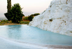 Landscape of Pamukkale, Turkey,. Middle East Stock Photography