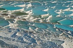 Landscape in Pamukkale, Turkey Royalty Free Stock Photography