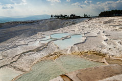 Landscape in Pamukkale, Turkey Stock Images
