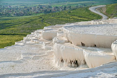 Landscape in Pamukkale, Turkey Stock Image