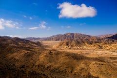 Landscape in Pan de Azucar National Park in Atacama Desert in Chile,. Near Chanaral town stock images