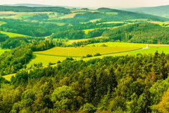 Landscape Panaroma In Southern Germany Royalty Free Stock Photos