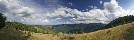 Landscape panorama 1 Royalty Free Stock Photography