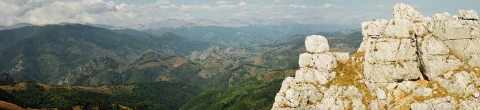 Landscape panorama Royalty Free Stock Photography