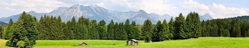 Landscape panorama Stock Image