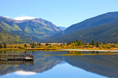 Landscape panorama of beautiful mountain Stock Images