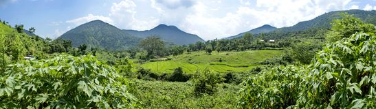 Landscape panorama Royalty Free Stock Images