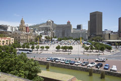 Landscape panorama of Cape Town South Africa Royalty Free Stock Image