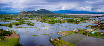Landscape panorama. Nature at ninh thuan province - vietnam Stock Image