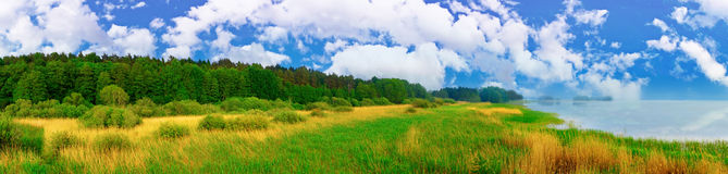 Landscape panorama Royalty Free Stock Photo