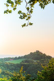 Landscape Panorama in Summer in Bavaria Stock Photo
