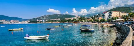 Landscape panorama view in Montenegro Royalty Free Stock Image