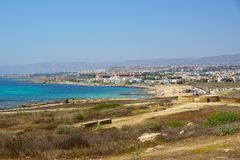 Landscape of Paphos Royalty Free Stock Images