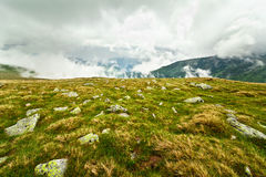 Landscape with Parang mountains in Romania Stock Photography