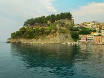 Landscape from Parga. Stock Photo