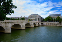 Landscape of paris Stock Photography