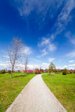 Landscape in the park Royalty Free Stock Photography