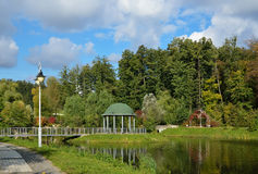Landscape park in autumn Royalty Free Stock Photography