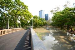 Landscape of park Stock Photo