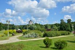 Landscape park Feofaniya in Kyiv Stock Image