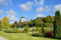 Landscape park Feofaniya in the Ukrainian capital Royalty Free Stock Images