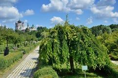 Landscape park Feofaniya in the Ukrainian capital Royalty Free Stock Image