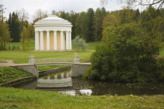 Landscape in the park of Pavlovsk, Russia Royalty Free Stock Images